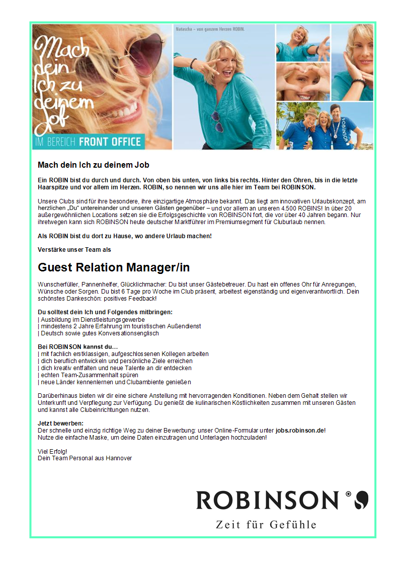 Guest Relation Manager